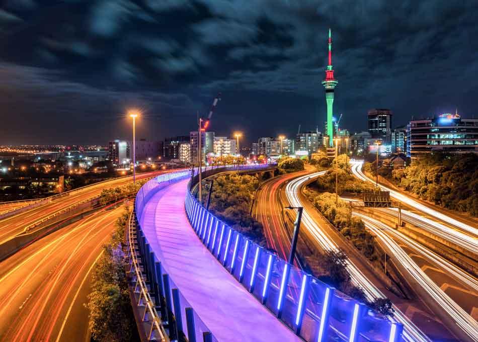 Auckland Sky Tower, the iconic landmark