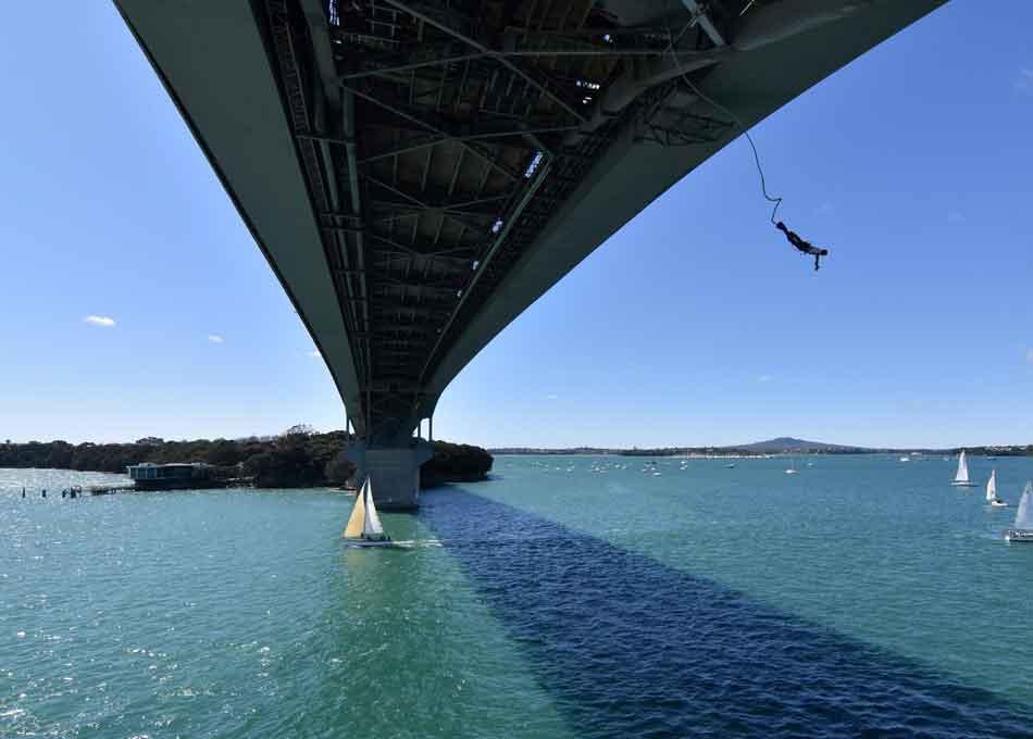 Bungee Jump at Harbour Bridge