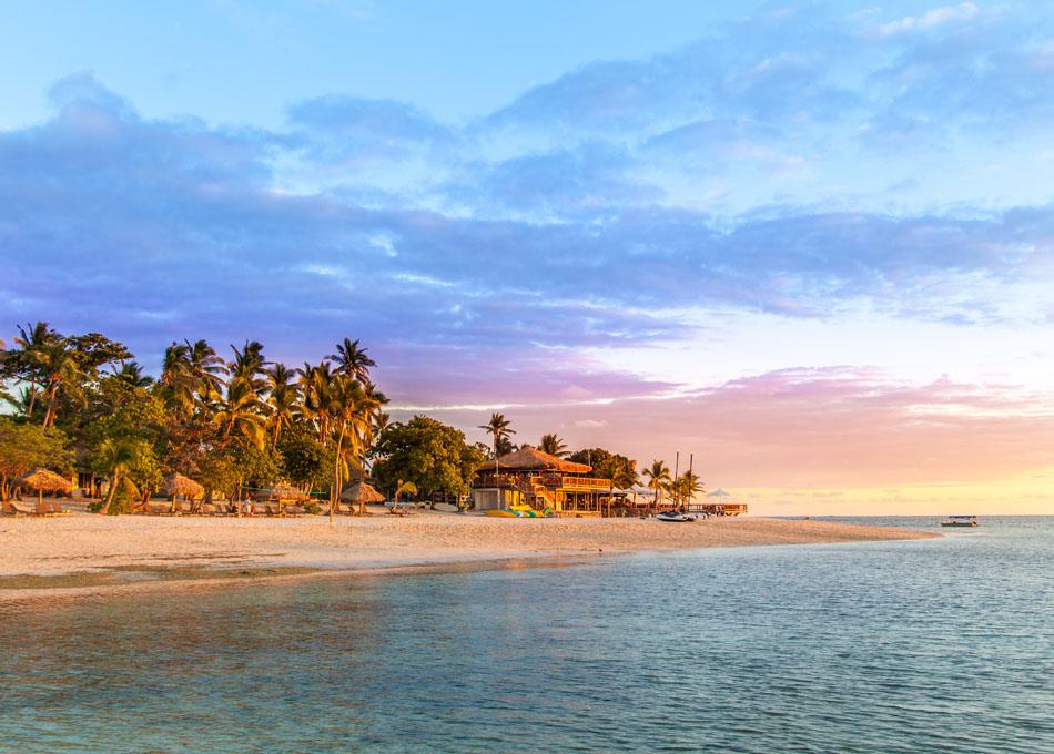 Fijian Sunset. The Magical Mamanuca Islands