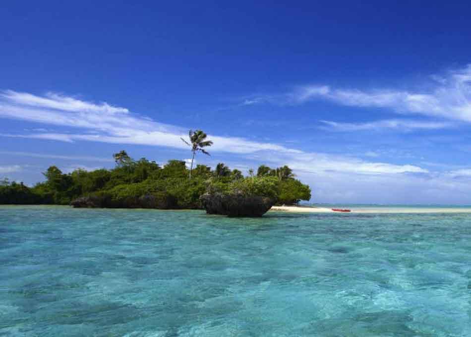 Private Island in Fiji